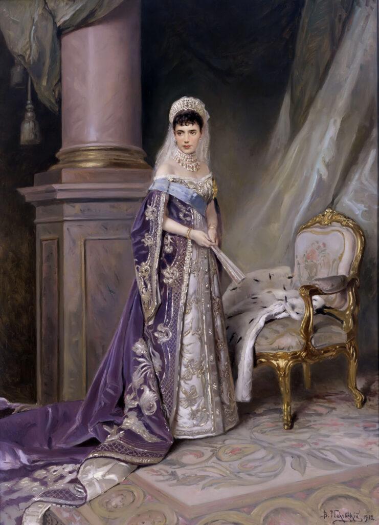 Maria Fedorovna. 1912